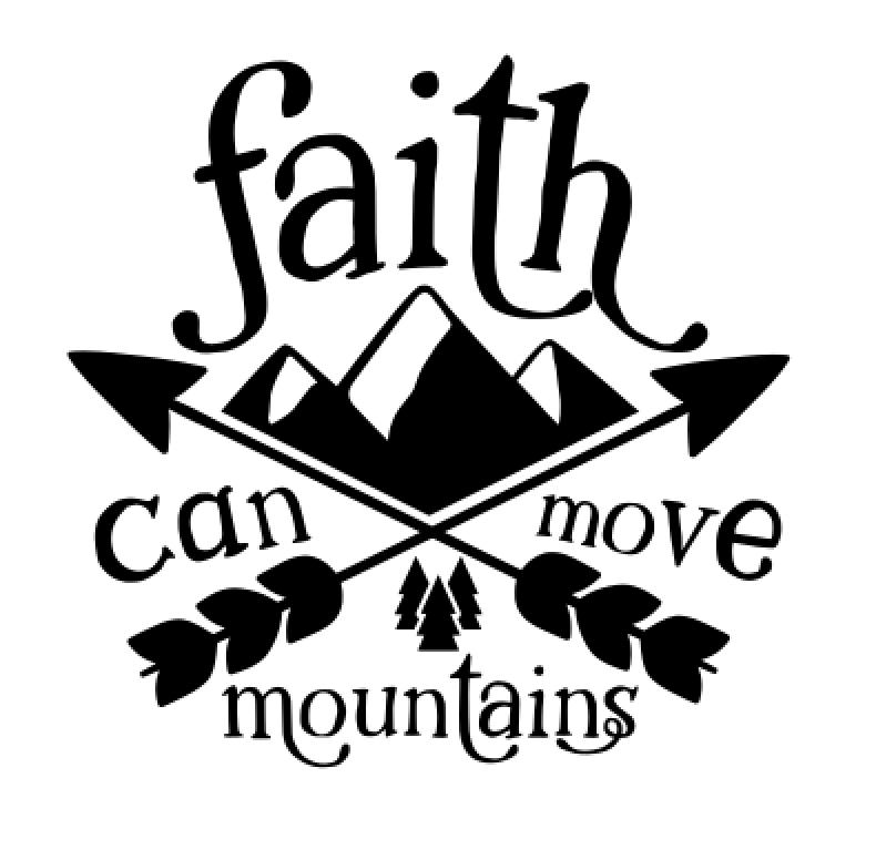 18 Faith can move mountains