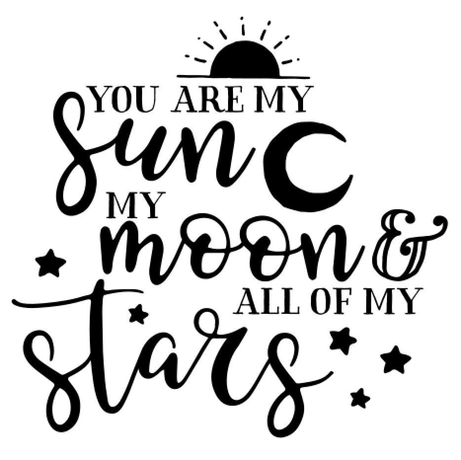 8 Sun, moon _ Stars