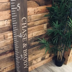 Giant Height Ruler Solid Pine Board 4ft x 20cm - £45