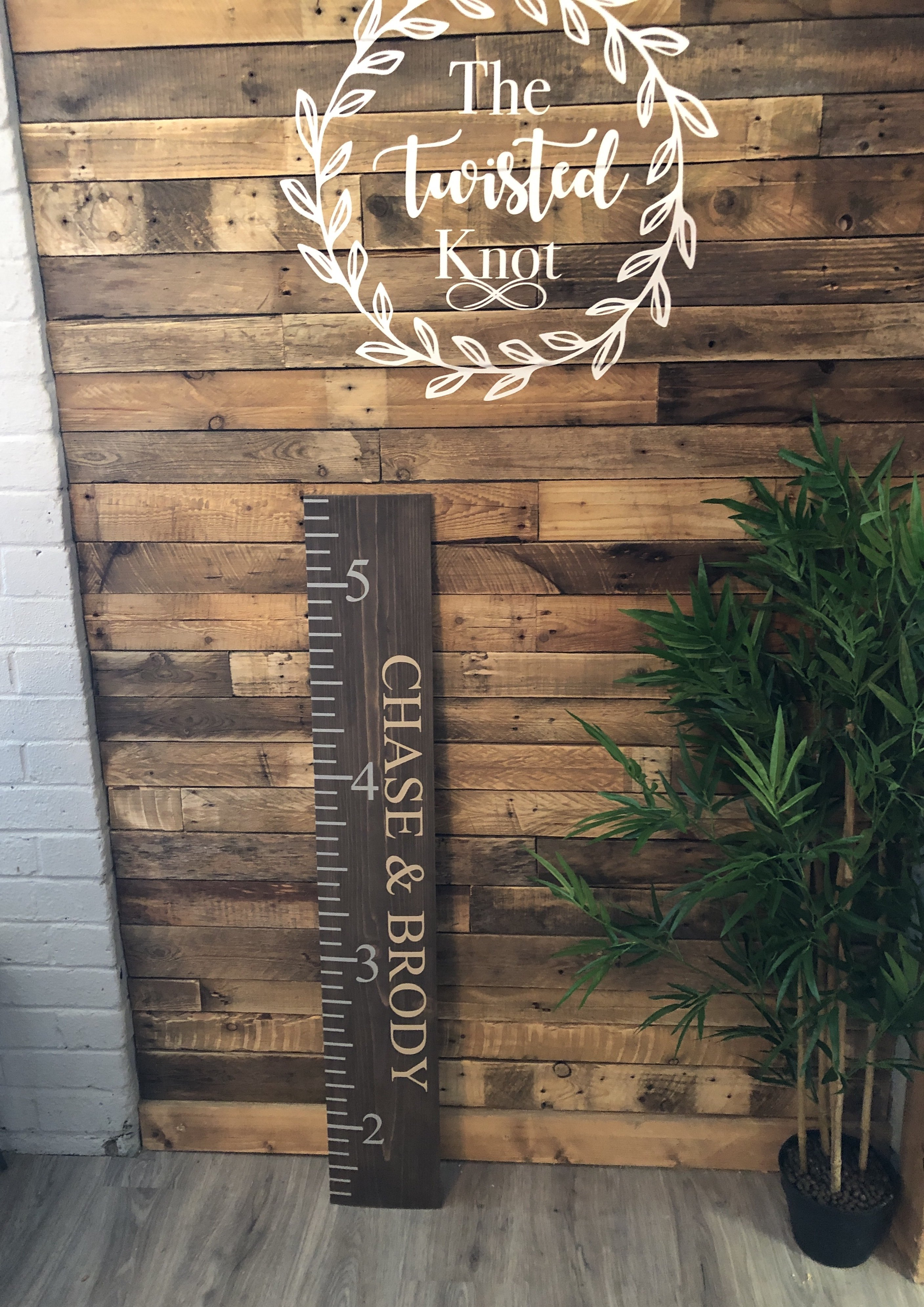 Giant Height Ruler Solid Pine Board 4ft x 20cm - 2 - £45