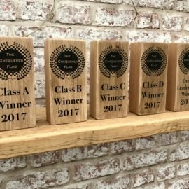 Bespoke oak Trophies