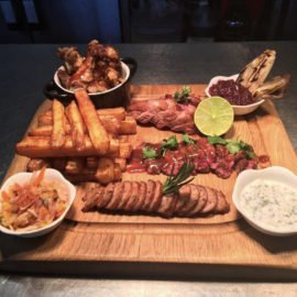 Rum Rooms Doncaster Serving platters
