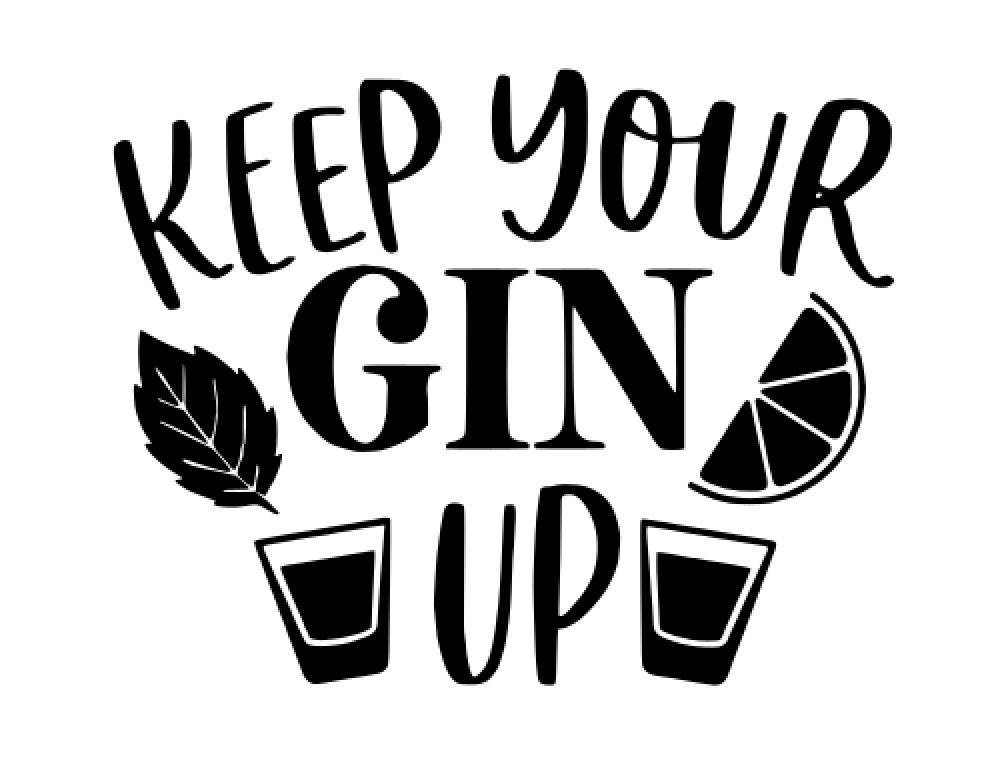 11 Keep your gin up