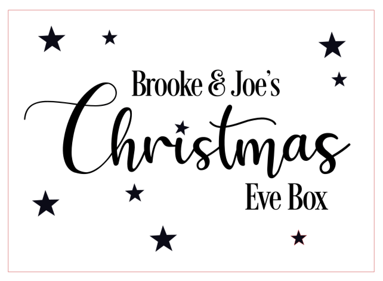 Christmas Eve Box Design 2