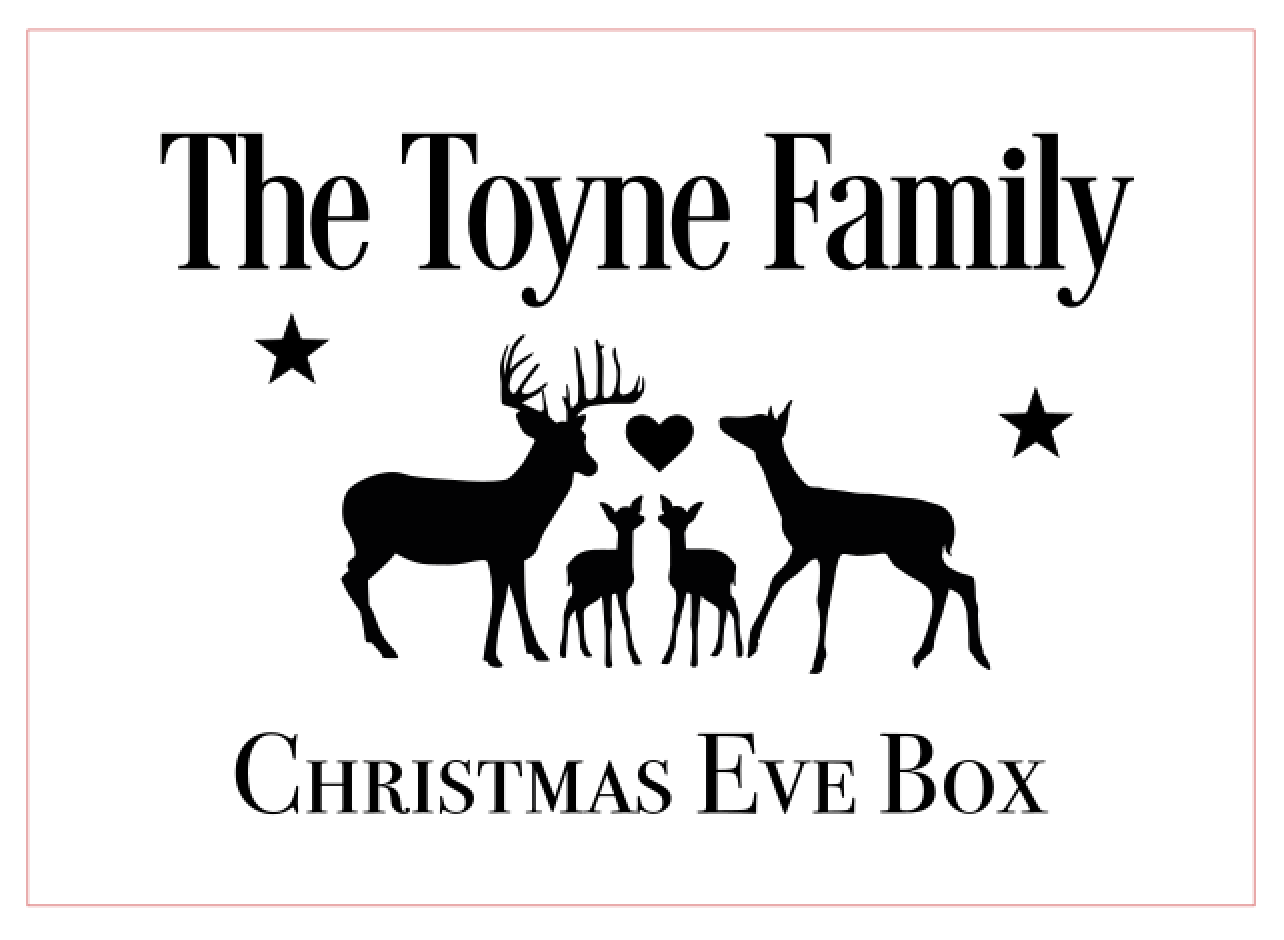 Christmas eve box Design 3
