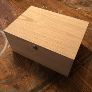 Large Wooden Box 30cm x 20cm - £30