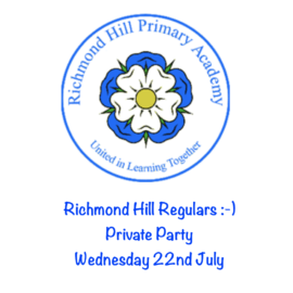 Richmond Hill Private Party Wednesday 22nd July