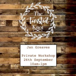 Jan Greaves Private Party 26th September 10am-1pm